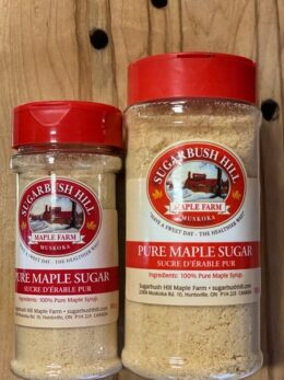 pure maple sugar